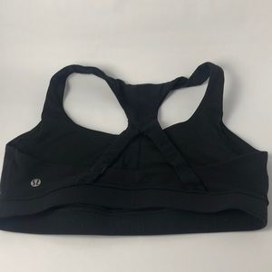 Lululemon 50 Rep Bra Black